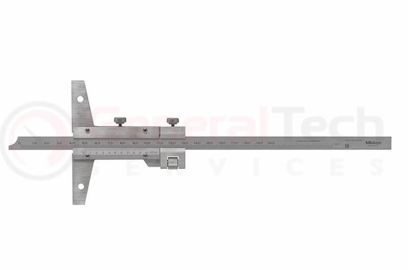 Mitutoyo Vernier Depth Gauge 0-200mm