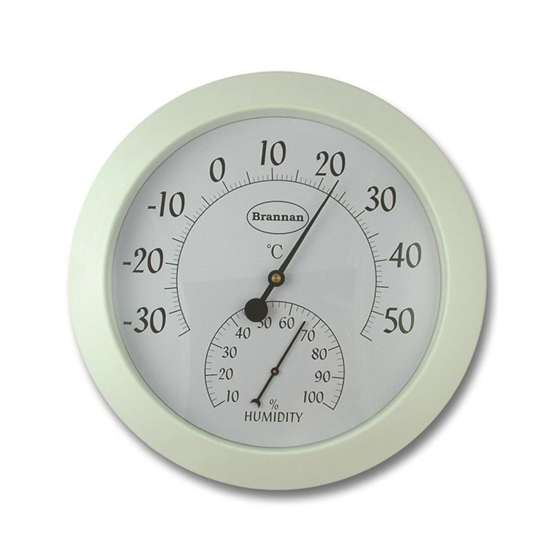 Brannan Large Dial Thermometer and Humidity Meter