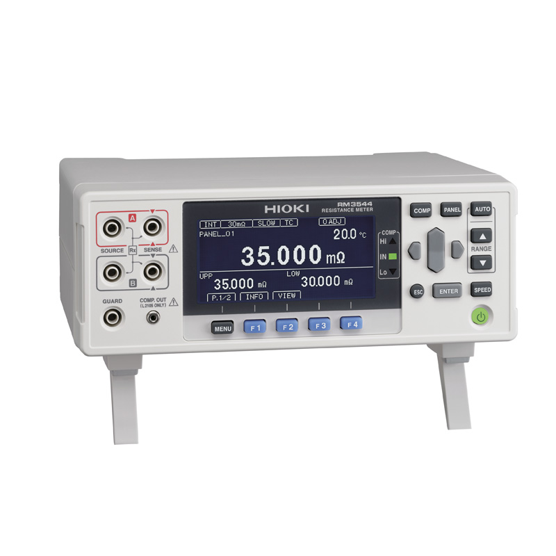 Hioki Resistance Meter RM3544 | 30mΩ to 3MΩ