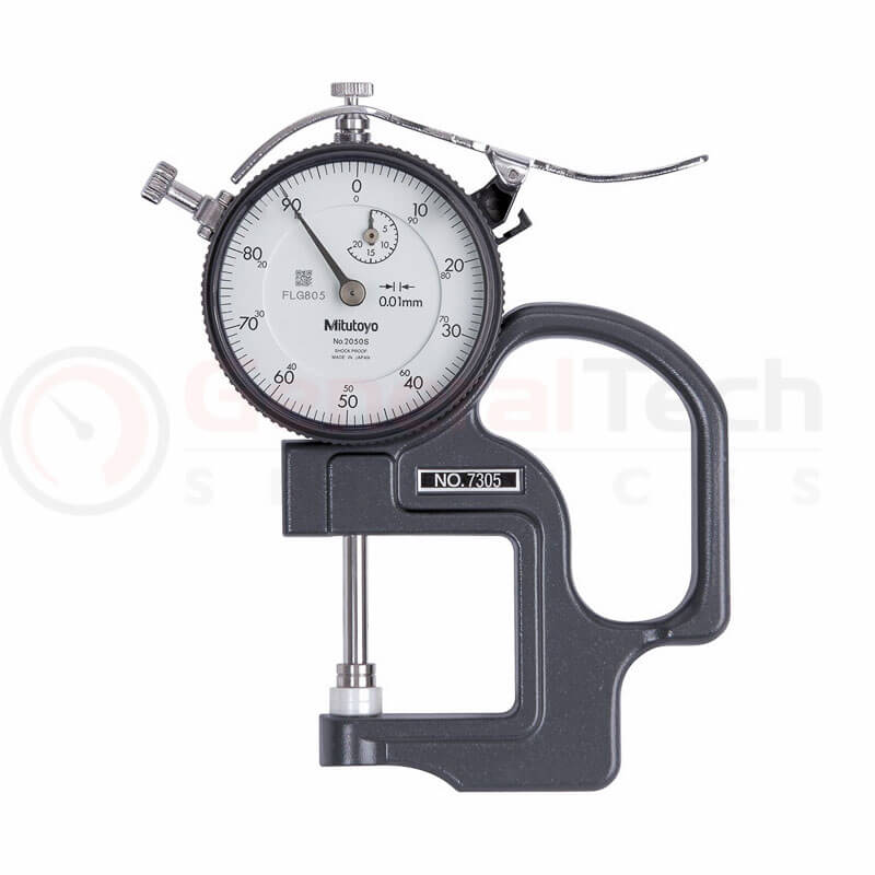 Mitutoyo Dial Thickness Gauge 0-20mm