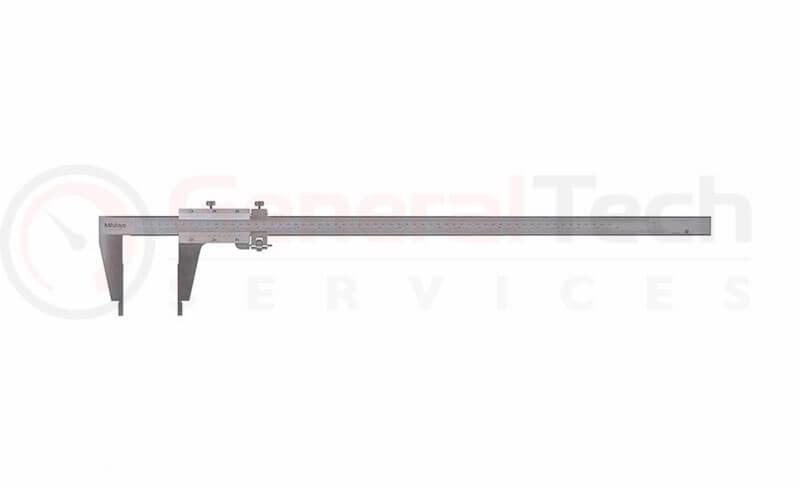 Mitutoyo Nib Jaw Fine Adjustment Vernier Caliper 0-600mm / 0-24