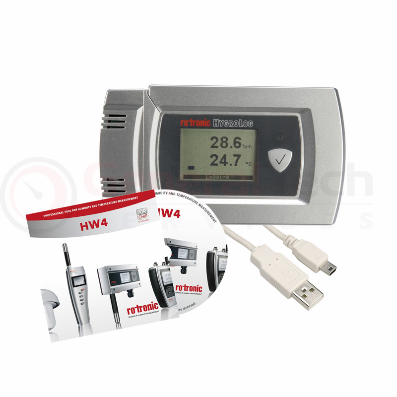 Rotronic HL-20D - Humidity and temperature data logger
