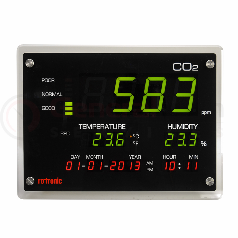 CO2 DISPLAY Rotronic