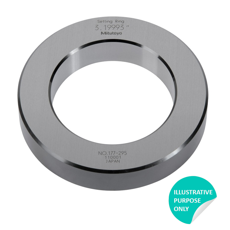 Mitutoyo 177-317 | Setting Ring 3.0 inch