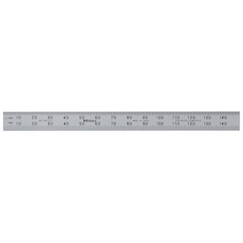Mitutoyo 182-211 | Fully Flexible Steel Rule 150mm
