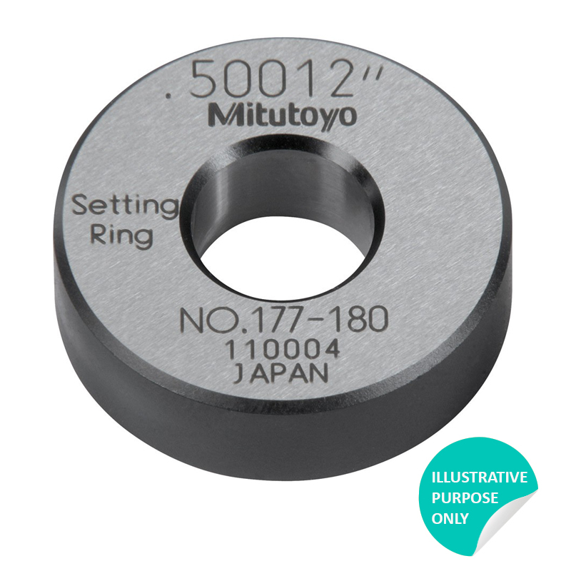 Mitutoyo 177-189 | Setting Ring 3.6 inch