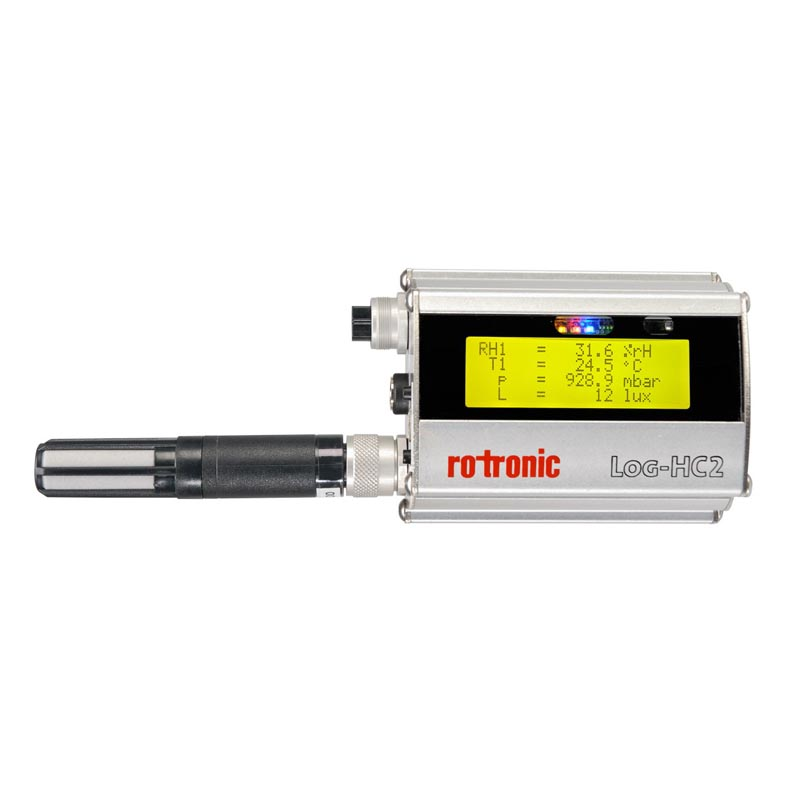 Rotronic Universal Logger- Pressure, Temperature, Air Pressure, 3-axis acceleration