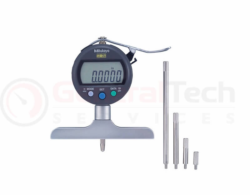 Mitutoyo ABSOLUTE Digimatic Depth Gauge 0-200mm / 0-8
