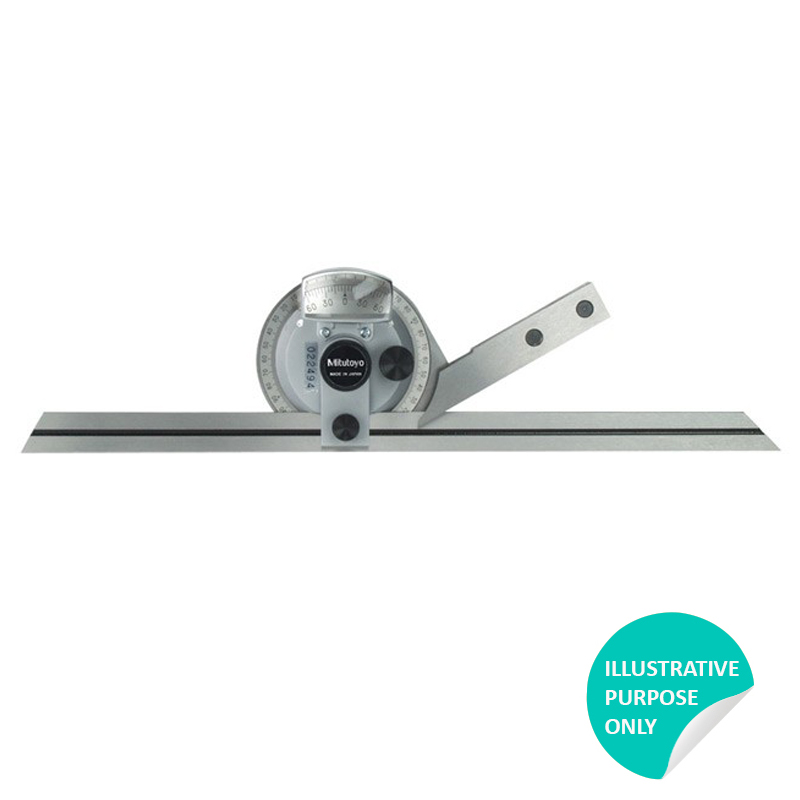 Mitutoyo 187-901 | Universal Bevel Protractor 150, 300mm