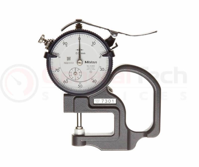 Mitutoyo Dial Thickness Gauge 0-10mm