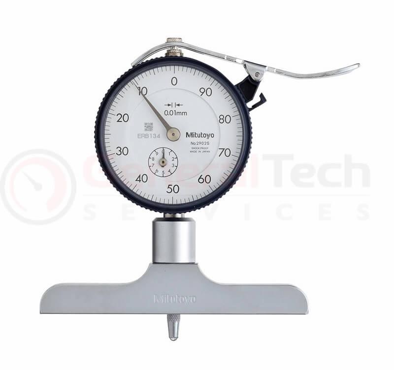 Mitutoyo Dial Type Depth Gauge 0-200mm