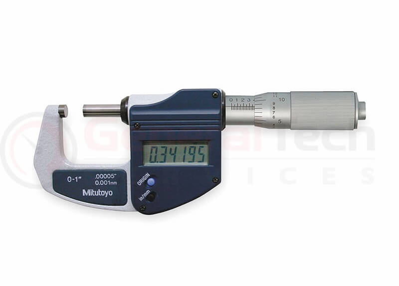 Mitutoyo Digimatic Micrometer 0-25mm / 0-1